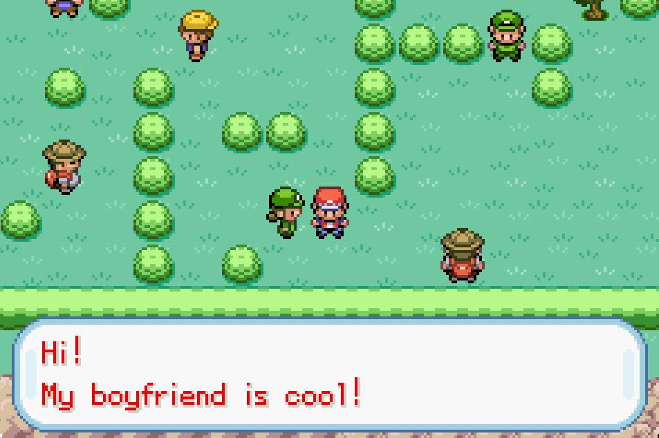 Hi My boyfriend is cool