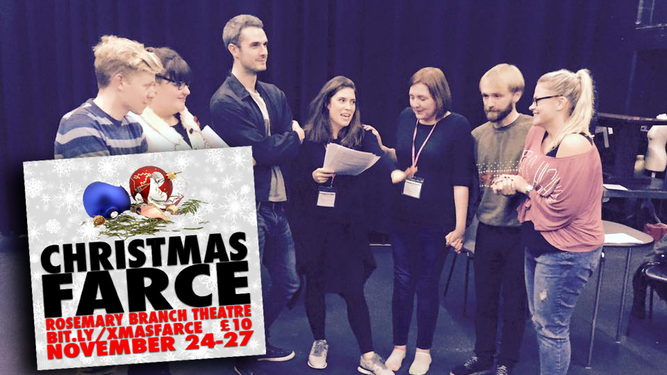 On new play christmas farce or that time i attempted for Farcical comedy plays