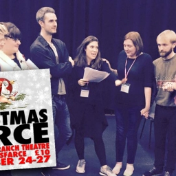 On new play 'Christmas Farce', or 'That Time I Attempted Outright Comedy And Hopefully Didn't Fail'